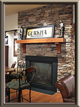 Commercial Projects -Cigar's International Bethlehem Store Mantle